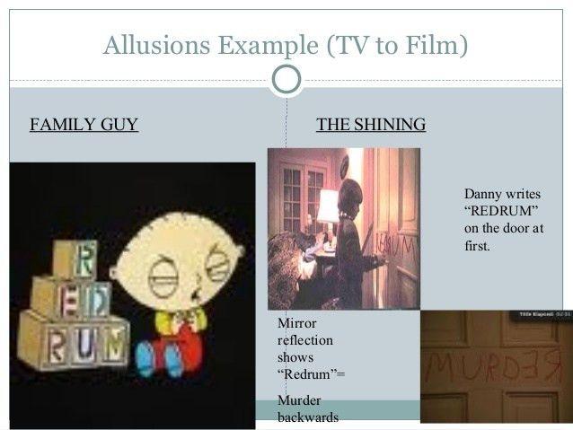 ALLUSION EXAMPLES - alisen berde