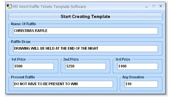 How to Create Tickets in Microsoft Word – Tutorial | Free ...