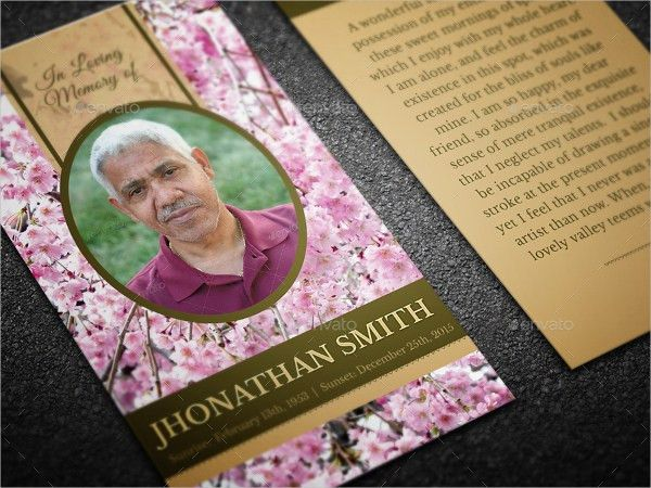15+ Funeral Card Templates - Free PSD, AI, EPS Format Download ...
