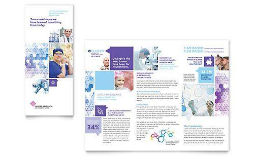 Medical & Health Care | Tri Fold Brochure Templates