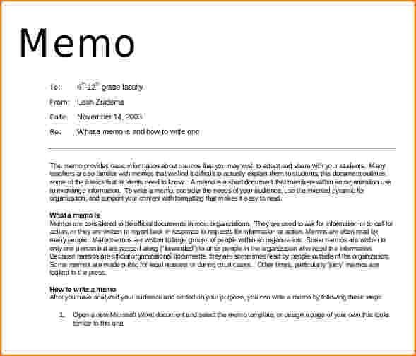 8+ how to write a professional memo | bibliography format