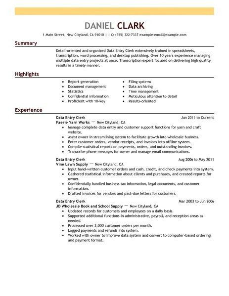 Best Photos Of Office Clerical Resume Samples – General Office ...