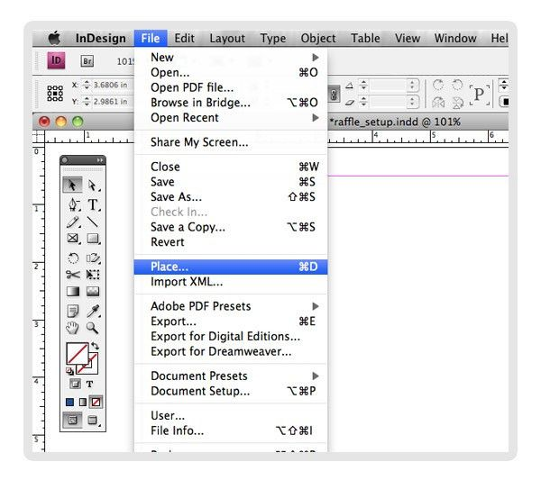 Creating Numbered Raffle Tickets with InDesign Tutorial | Mines Press