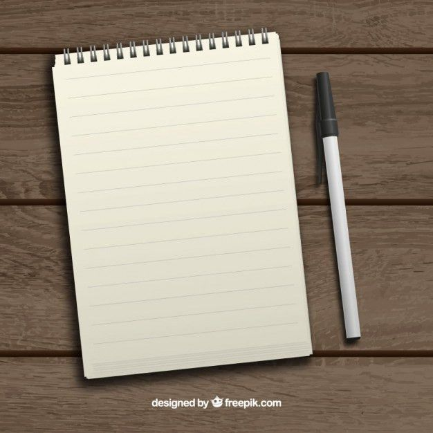 Notebook Vectors, Photos and PSD files | Free Download