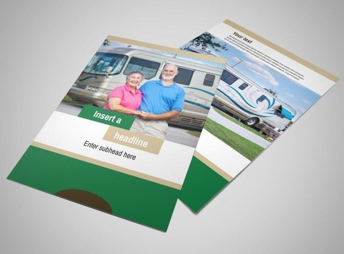 RV Sales Flyer Template | MyCreativeShop