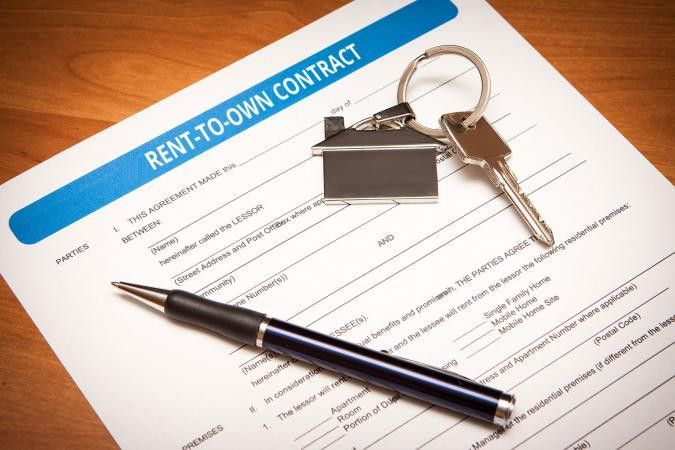 Rent-to-Own House Contract Example