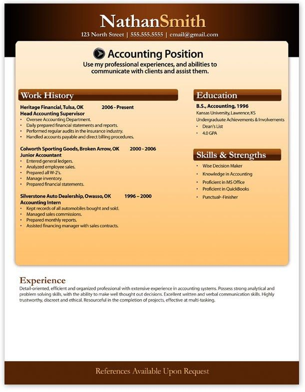 best 22 basic resume images on pinterest other high school free ...