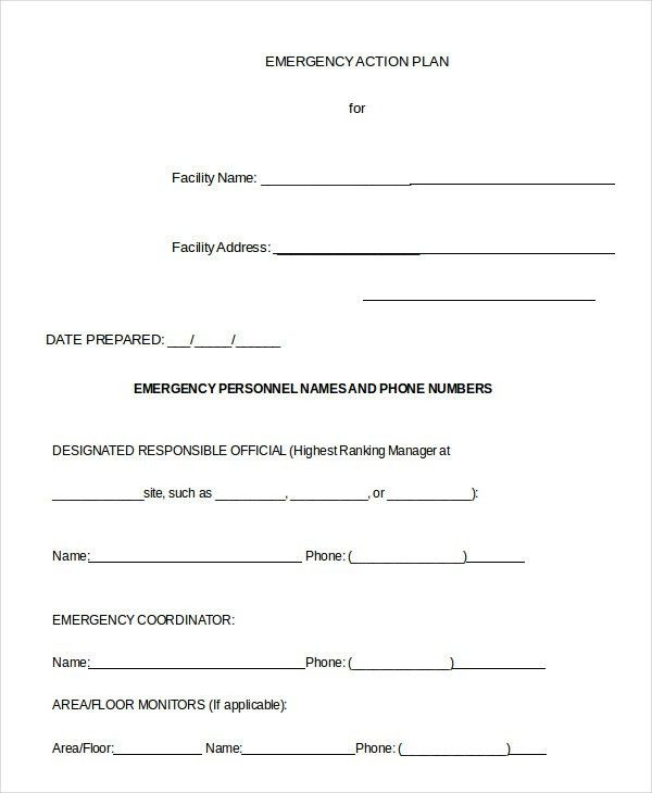 Action Plan Template - 15+ Free Sample, Example, Format | Free ...