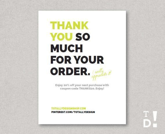 41 best Business Thank You Cards images on Pinterest | Business ...