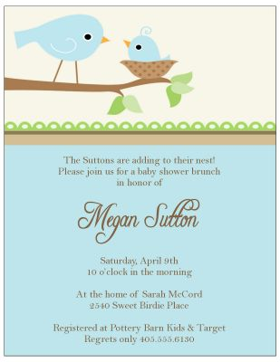 Photo : Baby Shower Party Invitation Image