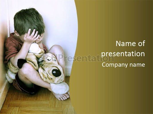 Punishment divorce violence PowerPoint Template ID 0000090007 ...