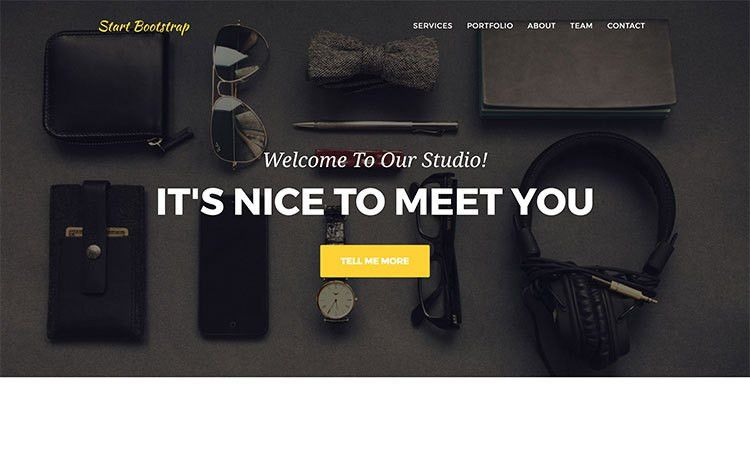 Free Bootstrap Landing Page Themes - Start Bootstrap