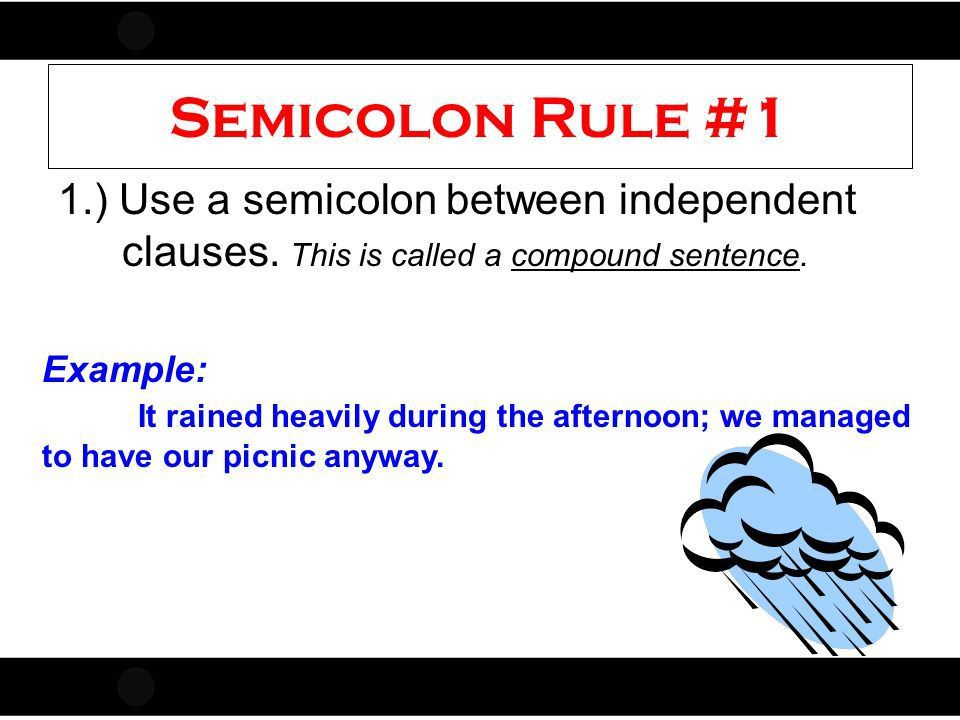 Punctuation Rules commas colon semicolon Adapted From Ms. Fulmer ...
