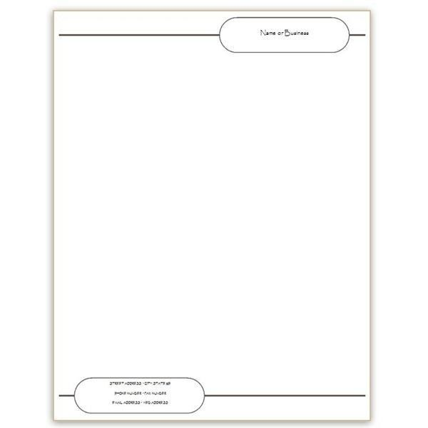 Seven Microsoft Word Free Stationery Templates For You To Use 79 ...