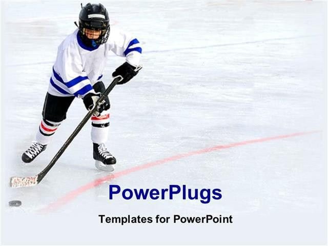 Free Ice Hockey Powerpoint Template - Metlic.info