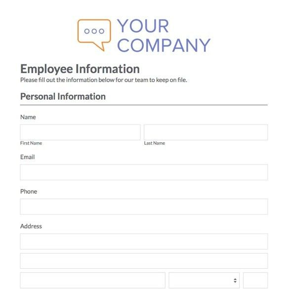 Tenant Information Form. Property Rental Application Form Template ...
