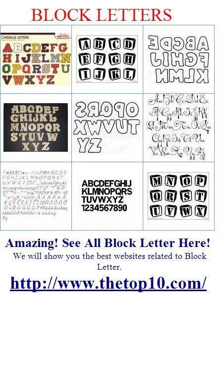 3D Block Letters Font Types | Myblog's Blog