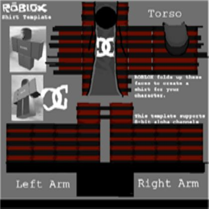Sk8er Boi Jacket Shirt Template - ROBLOX