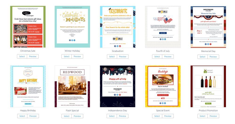 Email templates — Alex Fram Design