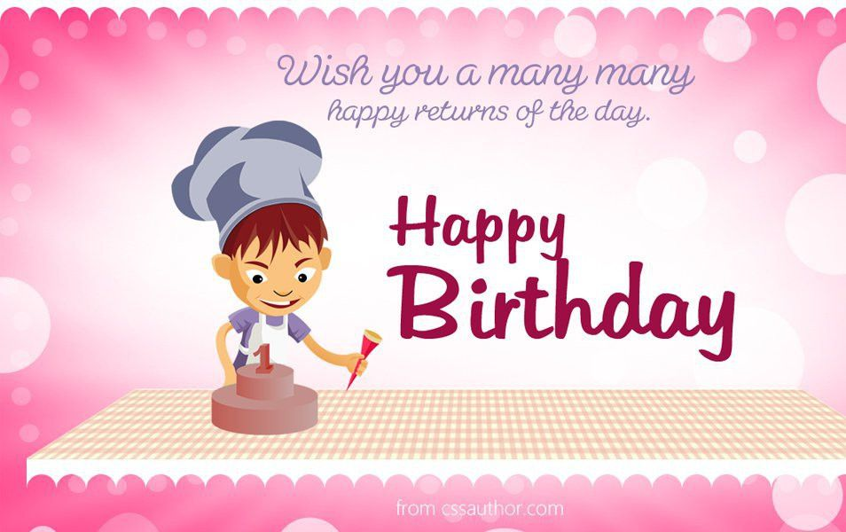 Happy Birthday Greetings Card Template PSD | Youth and adolescence ...