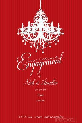 Engagement Invitations Online Templates 92 | Cvletter.csat.co