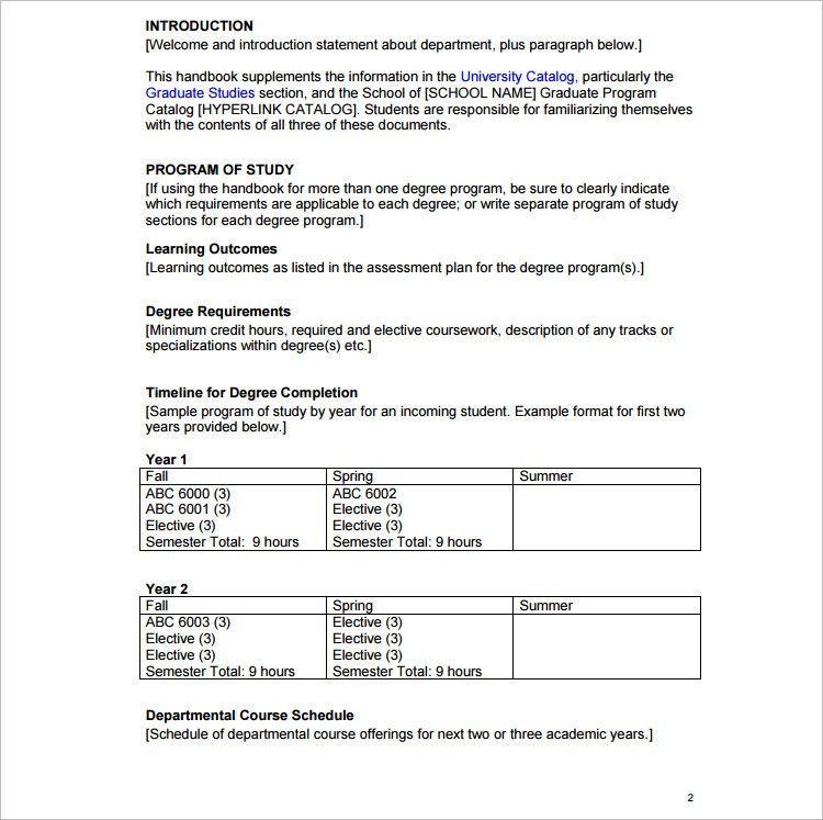 17+ Program Template - Free Word, PDF Documents | Creative Template