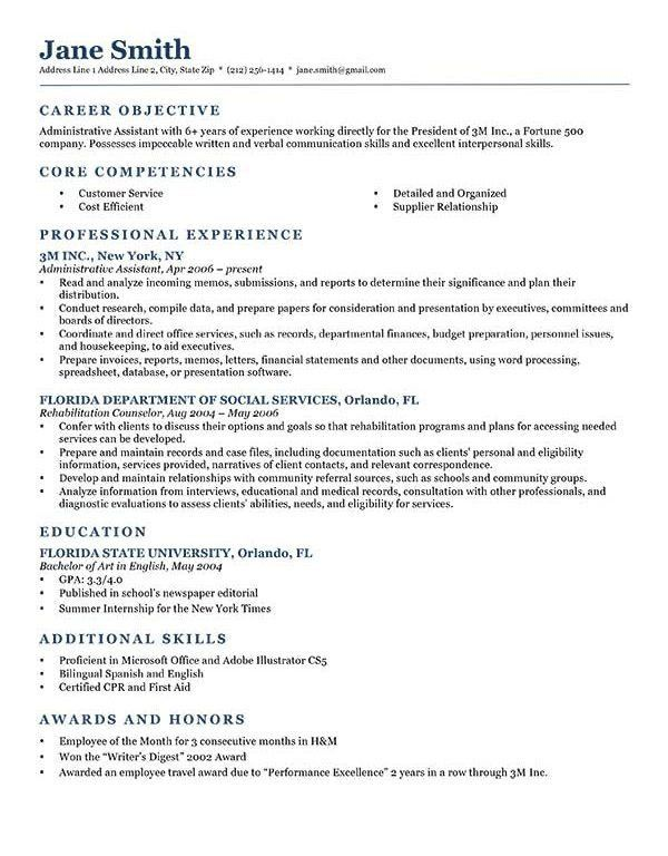 Exclusive Ideas Resume Objective Sample 13 How To Write A Career ...
