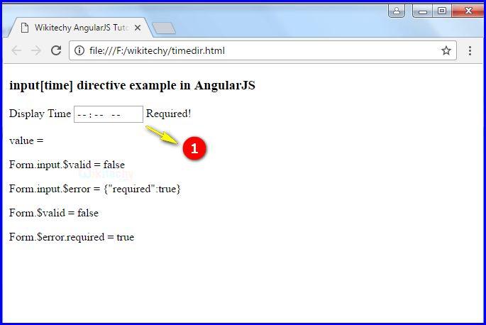AngularJS Input Time - wikitechy