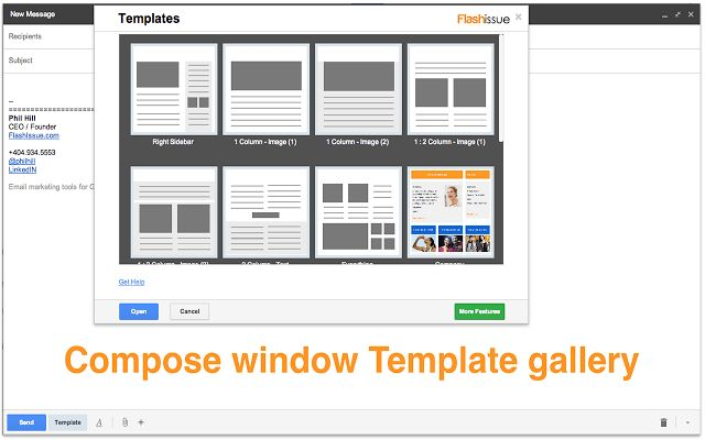 Email templates for Gmail - Chrome Web Store