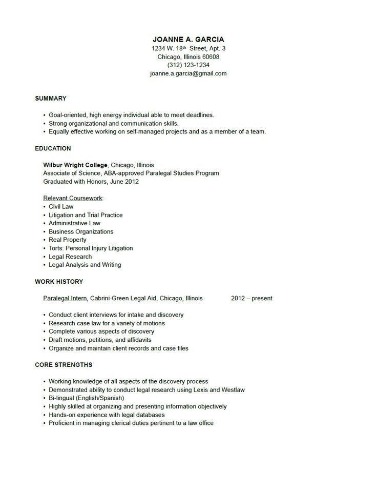 Fantastical Simple Resume Examples 15 Examples Of Resumes Sample ...