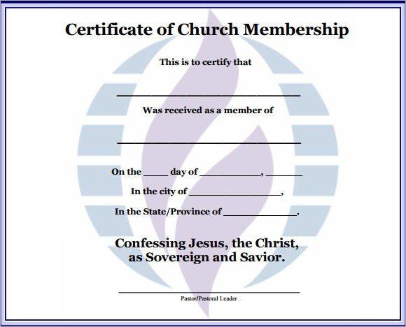 Sample Membership Certificate. Sample Membership Certificate ...