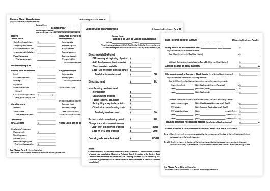 Accounting Business Forms and Templates | AccountingCoach