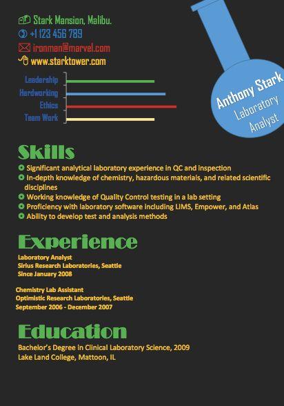 The Best Resume Format 2015: Infographics VS Formal Resume ...