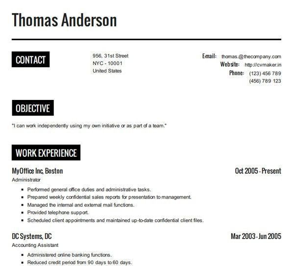 How Do I Do A Resume | haadyaooverbayresort.com