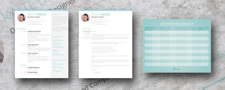 Ocean Breeze - Premium Resume Package