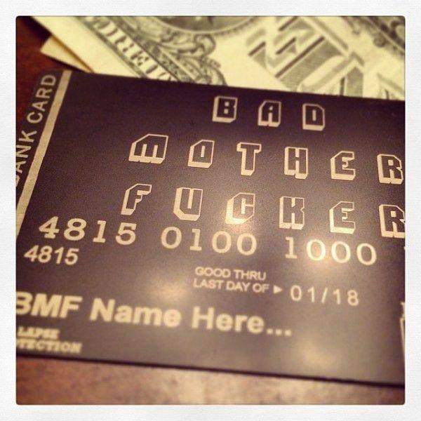 Premium Custom Engraved Metal Black Cards