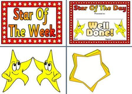 Instant Display Teaching Resources OtherPosters --- includes Star ...