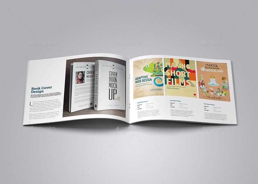 Graphic Design Portfolio by vanroem | GraphicRiver