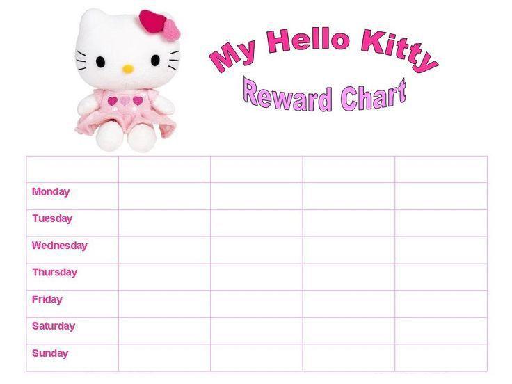 Top 25+ best Reward chart template ideas on Pinterest   Chore ...