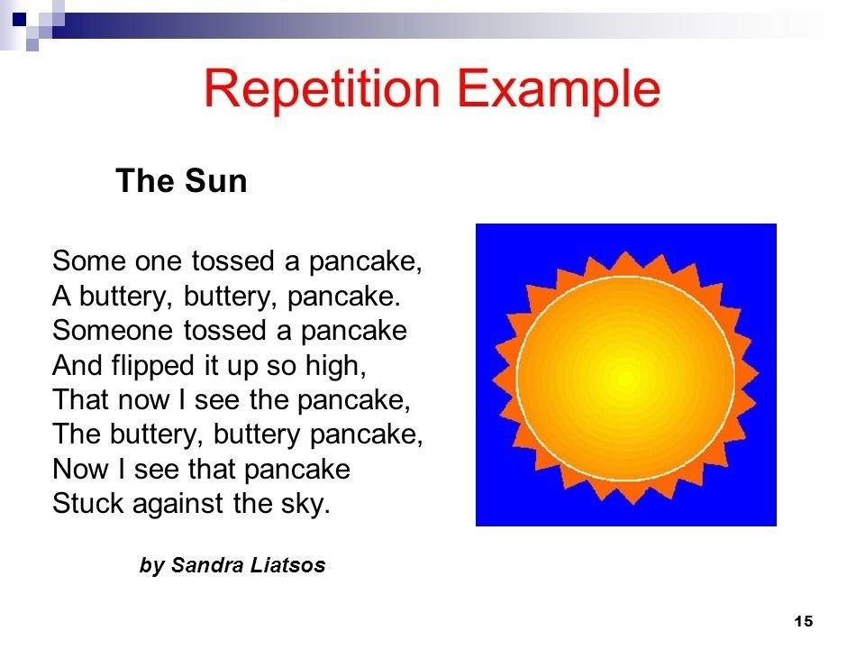 Example Of Repetition | World of Examples