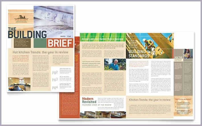 indesign newsletter templates | proposal forms templates