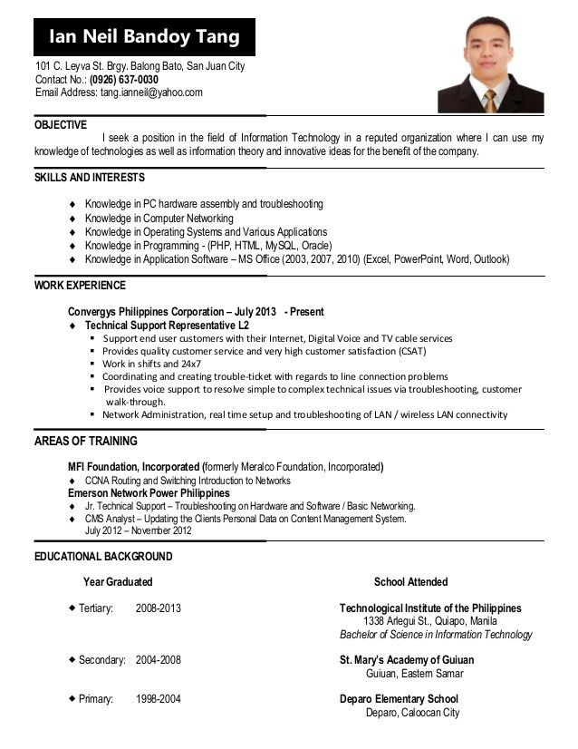 Astounding Ideas How To Update A Resume 6 CV For Jobstreet ...