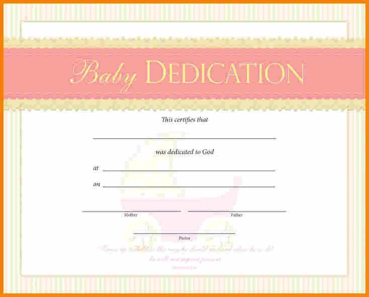 5+ baby dedication certificate | mileage tracker form