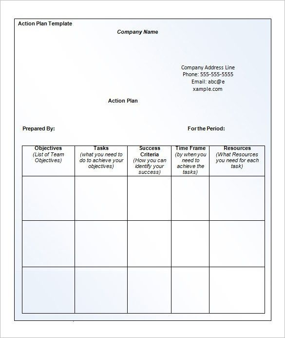 Plan Of Action Template. Action-Plan Jpg Action Research Plan ...