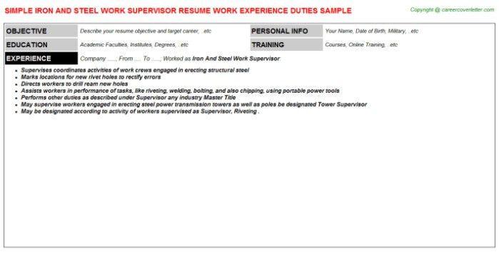 Maintenance Worker Cover Letter] Professional Maintenance Worker ...