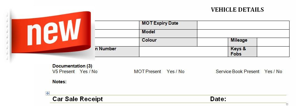 Download Car Sale Invoice Template Uk | rabitah.net