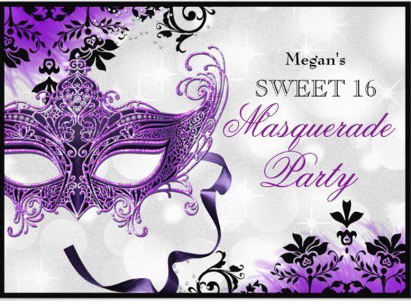 18+ Masquerade Invitation Templates – Free Sample, Example, Format ...