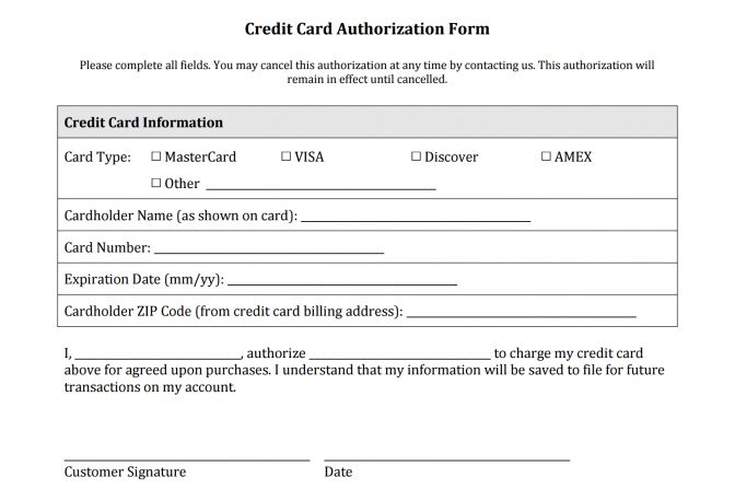 Ach Authorization Form ~ Lotcos