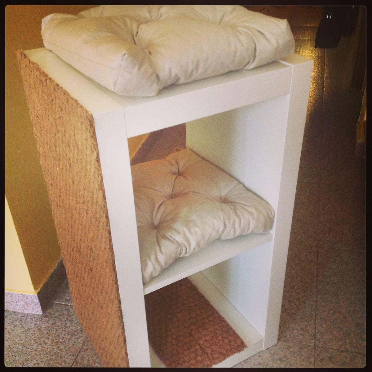 Torres para gatos en pinterest muebles para mascotas - Arbol gato ikea ...