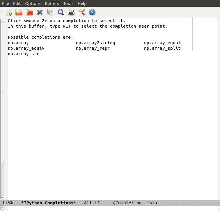 Emacs as a Python IDE - Jessica Hamrick
